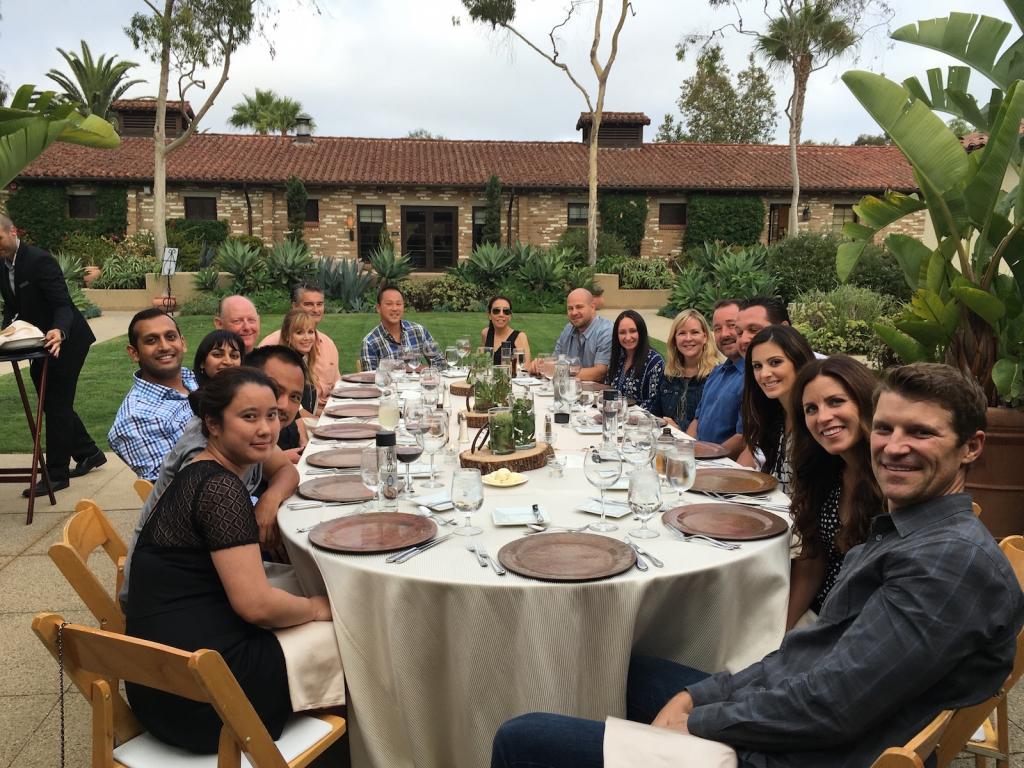 Larry Greene Group Dinner